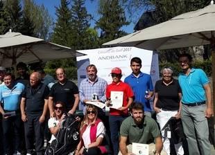 El Torneo de Golf Andbank 2017 arranca con éxito en La Cerdanya