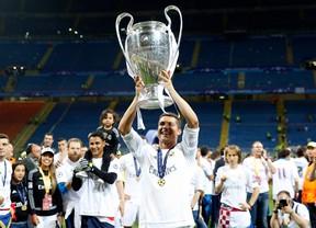 Así vivió Sergio García el penalti de Ronaldo en Milán