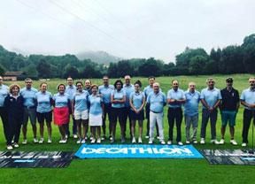 El circuito de Decathlon viajó hasta Oviedo