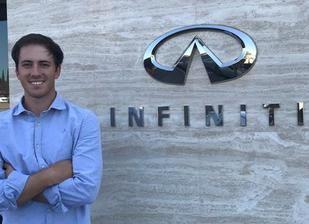 Scott Fernández, nuevo embajador de Infiniti España