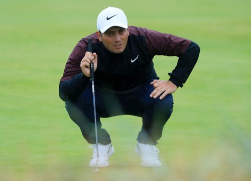 Francesco Molinari está On fire