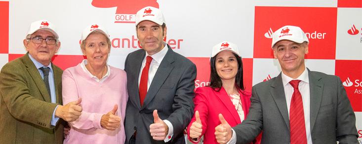 El Santander Golf Tour refuerza su apuesta por el golf femenino