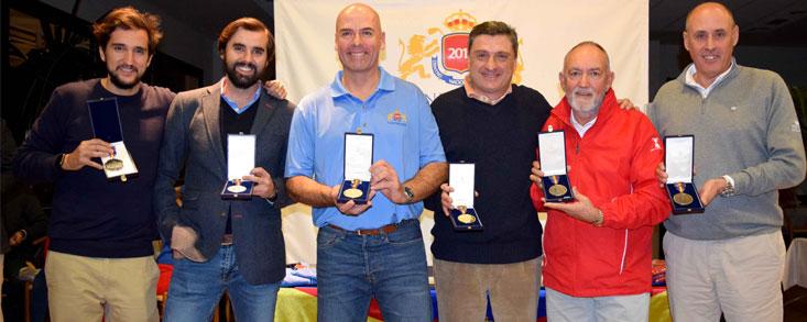 Primeros ganadores del Match-Play del CNG