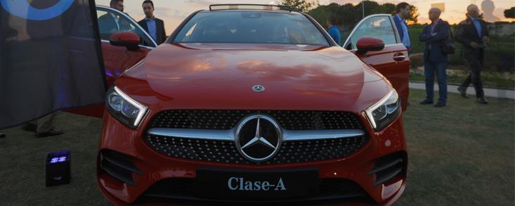 Santogal presentó el nuevo Clase A de Mercedes-Benz en Madrid