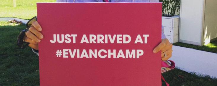 El Evian, rey del marketing