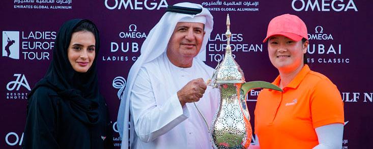 Angel Yin se lleva la final de Dubai en el segundo hoyo de un emocionante play off