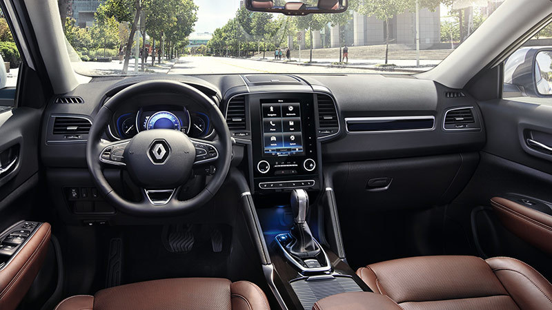 Estilo atemporal con el renault koelos elperiodigolf for Auto interieur bekleden prijs